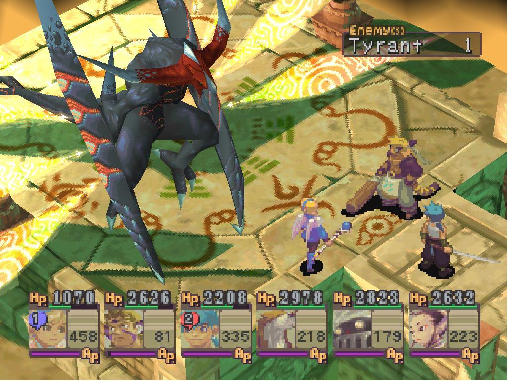 Image result for Breath of Fire iV ps1
